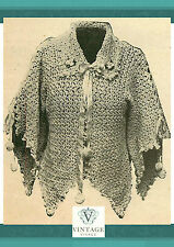 Vintage downton abbey era crochet pattern for a stylish kimono jacket
