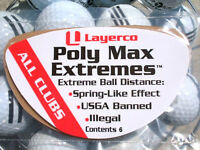 Illegal golf product Poly Max Extremes USGA banned for Ping G400 Drivers
