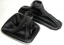 ALFA ROMEO GIULIETTA headphones change and brake hand black leather