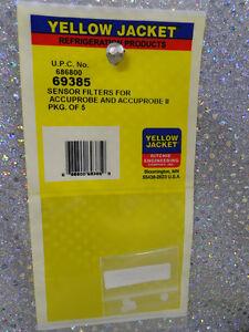 Accuprobe leak detector, SENSOR FILTERS PKG. 5 #69385