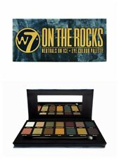 W7 en las rocas Naturals on Ice 14pc Color De Los Ojos Sombra de Ojos Paleta