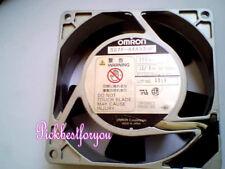 OMRON R87F-A4A93HP AC200V 10/9W 50/60HZ 90*90*25MM Aluminum frame fan #M415B QL