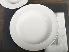 M by MIKASA White Vitrified Porcelain PASTA BOWL
