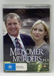 Midsomer Murders Season 11.1 - British Detective Drama Series DVD - Like New