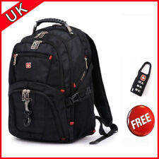"15.6"" Waterproof Swiss Gear Men Travel Bags Macbook Laptop Hike Backpack Outdoor"