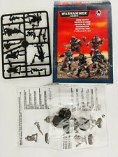 Warhammer 40k - Chaos Cultists On Sprue Boxed primed in black [2012]