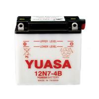 YUASA 12n7-4b Conventional 12 Volt Battery~2011 Triumph Tiger 800 XC ABS