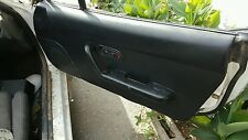 MAZDA MIATA 1992 DOOR PANEL BLACK POWER RIGHT MX5 OEM