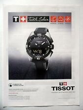PUBLICITE-ADVERTISING :  TISSOT T-Touch Expert Solar (02)  2015 Montres