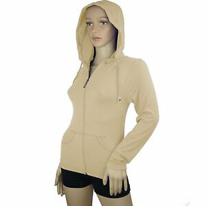 Lightweight Seamless Hooded Pull-up Active Yoga Fitness Jacket with Pocket