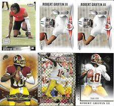 ROBERT GRIFFIN lll  NICE (6) CARD ROOKIE & PREMIUM INSERT LOT  FREE COMBINED S/H
