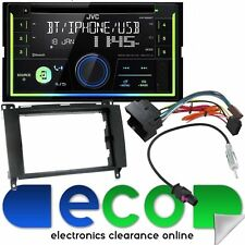 VW Crafter Van 2013 JVC BLUETOOTH CD MP3 USB Double Din Car Stereo & Fitting Kit