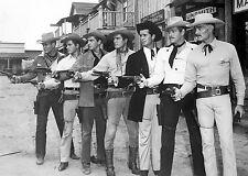 Photo of all Warner Brothers Studio Television Western Stars-Maverick-Sugarfoot
