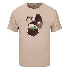 """Spin Alley """"The Icons"""" Victor III Phonograph T-Shirt - Various Sizes"""