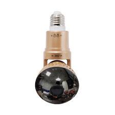Wifi Light Bulb Security Camera Remote Control P2P IR LED Light