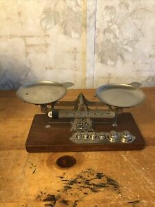 Antique Eastman Kodak Co. Studio Scale With Weights
