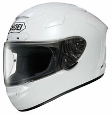 SHOEI X-spirit 2 Full Face Motorbike Motorcycle Helmet Crash White XS Pinlock