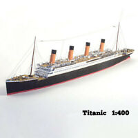 1:400 DIY Handcraft Titanic Ship 3D Paper Model Sets T~j A8A