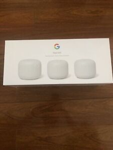 Google Nest Wifi AC2200 Dual-Band Mesh Wi-Fi System (3-Pack)