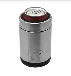 RTIC Can Cooler Koozie Vacuum Inulated Camo and Stainless Steel 12oz New Design