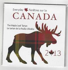 **2013**Everyday Maple Leaf Tartan $.50c Coin & Tartan Set