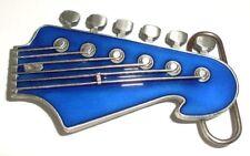 Blue chitarra solista Testa Cintura Fibbia Bergamotto Y-260