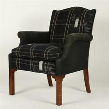 New listing Chinese Chippendale upholstered roll arm side chair. Lot 246
