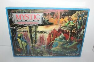 Mystic Series Two Sided Jigsaw Puzzle 529 Piece New 1990 Buffalo Games