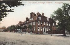 London Postcard. The Butts & Cottage Hospital Brentford. Hounslow. 1910