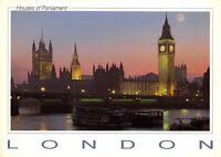London Postcard, Thames, Westminster Bridge, Big Ben, Houses of Parliament CW2