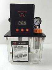 110VAC AUTO LUBRIFICAZIONE POMPA 1,5 LITRI 1.5 L CNC DIGITALE ELETTRONICO TIMER UKG
