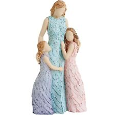 More Than Words Special Bond Mother with Daughters Figurine