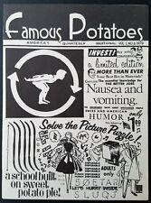 Vintage Underground Famous Potatoes #6 Comic Zine ULTRA-RARE! #ed!