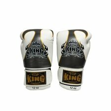 TOP KING Boxing Gloves Empower Creativity Muay Thai MMA Gloves 12 oz