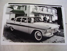 1957 PLYMOUTH BELVEDERE SEDAN  11 X 17  PHOTO  PICTURE