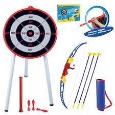 jouet enfants ARC & flèche jeu tir à l'Arc et cible extérieur jardin Jeu amusant