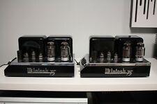 Vintage McIntosh MC75 Tube Power Amplifiers PAIR