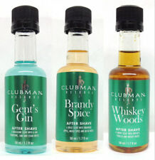 CLUBMAN PINAUD Mini Set of 3 - 1.7oz - Gen's Gin/Whiskey Woods/Brandy Spice