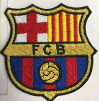 FCB SPORTS LOGO-Embroidered Iron/ Sew-on Patch Jacket Badge(PREMIUM QUALITY)