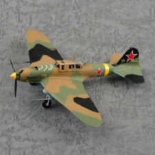MRC EASY MODEL 1/72 WWII IL-2M3 GROUND ATTACK AIRCRAFT YELLOW 25 36413