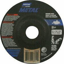 Norton Metal,Depressed Center Cut-Off/Grinding Wheel,4-1/2'' x1/8''Thick x7/8''