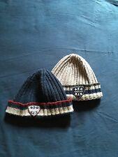 Due Cappellini neonato bimbo Geox di lana