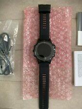 Garmin Fenix 5 Sapphire Gps 47mm - Black w/ Black Band (Open box)