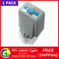 PFI-1000 C Cyan ink Cartridge Replacement for Canon imagePROGRAF PRO-1000