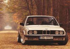 PHOTOGRAPH TRANSPORT BMW 325I E30 CLASSIC CAR ART PRINT POSTER GIFT A3 GZ5774
