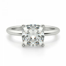 Certified 1.53 Carat F / SI1 Natural Diamond SOLITAIRE Wedding Engagement Ring
