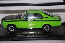 Rarität  Opel Manta A  GT/E 1975 signalgrün - schwarz  Norev 1:18 OVP