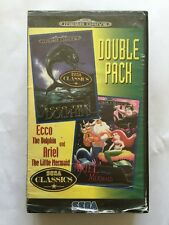 Ecco The Dolphin And Ariel The Little Mermaid Double Pack Mega Drive