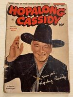 Hopalong Cassidy #85 Comic Book Fawcett Western Photo Cover William Boyd!!!!