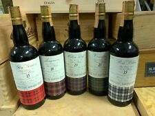 Whisky antica casa marchesi spinola lot 5 bottles